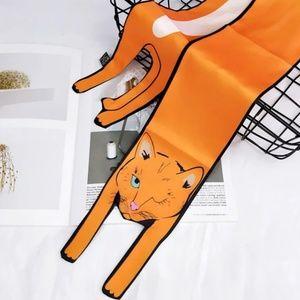 Accessories - Fashion Designer Twilly Cat Bag Neck Wrap Scarf